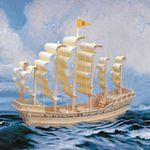Корабли Парусник династии Минг /01399/ Wooden Toy