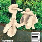 Мини Скутер /02784/ Wooden Toy