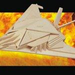 Самолеты Бомбардировщик Б-2 /09897/ Wooden Toy