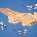 Самолеты Самолет F-15 /01315/ Wooden Toy