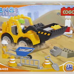 Конструктор для малышей Трактор 20 дет/28511/COGO