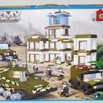 Конструктор для малышей Военная техника 1010 дет/28477/COGO
