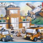 Конструктор для малышей Военная техника 564 дет/28475/СOGO