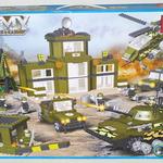 Конструктор для малышей Военная техника 975 дет/28478/СOGO