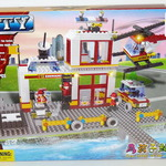 Конструктор для малышей спасательная станция 380 дет/28523/СOGO