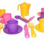 Набор детской посуды Анюта на 6 персоны/25610/Полесье