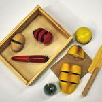 Овощи разрезные в коробке /20992/ РТ