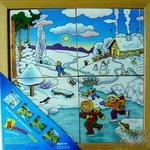 Картинки разрезные Времена года для старших /00233/РнТойс
