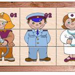 Картинки разрезные Важные профессии /00243/РнТойс