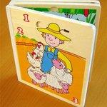 Книга - puzzle Бабочки /01013/Adex