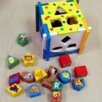 Логический куб Формы и Животные/21484/РТ