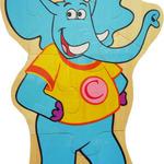 Животные пазл средний. Слон /15883/РНТойс
