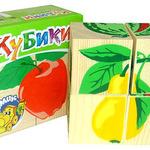 Кубики Фрукты-ягоды /00394/Томик