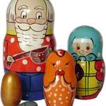Матрешка Курочка ряба /00949/ Умные игры