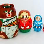 Матрешка Маша и медведь 4 /01005/ Умные игры