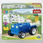 Конструктор для малышей Ферма 15 дет/32318/СOGO