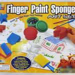 Набор пальчиковые краски 4 цв + инструменты/22446/Galey