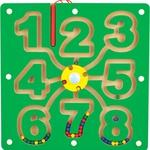 Лабиринт с шариками Цифры /33652/МДИ
