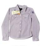 Рубашка дев, р. 140см, полосатая