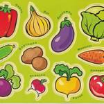 Магнит. Мои первые слова. Овощи, фрукты, ягоды /12421/Дрофа