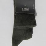 Гольфы хаки, ажурные, Zara