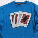 Фуфайка (футболка) карты, р.152, Zara