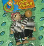 Сладкая парочка (деревянные куколки)