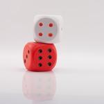 Кубик игральный мягкий