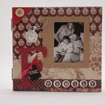 Фотоальбом подарочный FAMILY